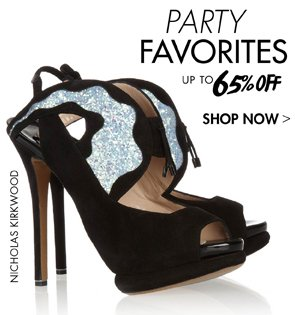 PARTY FAVORITES UP TO 65% OFF