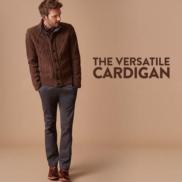 THE VERSATILE CARDIGAN