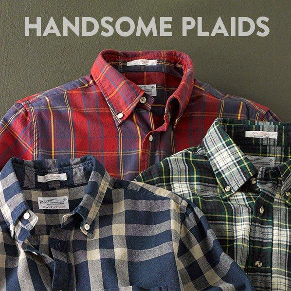 HANDSOME PLAIDS