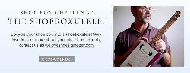 Shoe box challenge