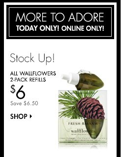 All Wallflowers 2-Pack Refills - $6