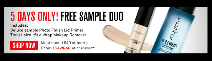 5 Days Only! Free Sample Duo