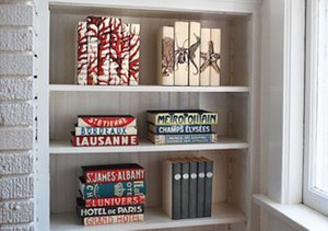 Beautify Your Bookshelves