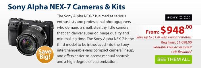 Adorama - Sony Alpha NEX-7 Cameras & Kits