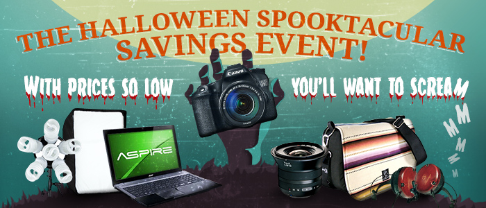 The Halloween Spooktacular Savings Event!