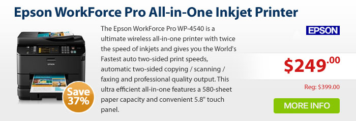 Adorama - EPSON WORKFORCE PRO WP4540