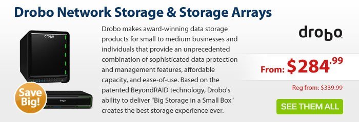 Adorama - Drobo Network Storage & Storage Arrays