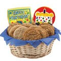 Gluten Free Confetti and Candles Basket