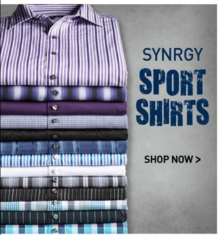 Synrgy Casual Shirts