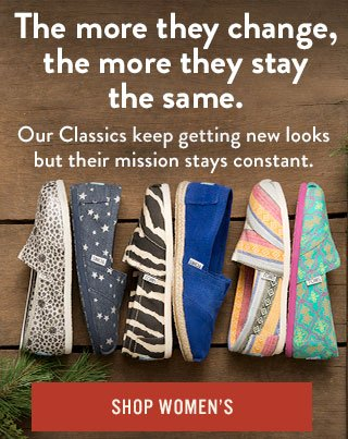 The more they change, the more they stay the same. Shop Men's Classics