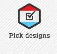 Pick designs