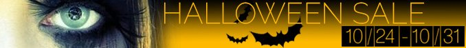 Halloween Sale - Save Up to $40