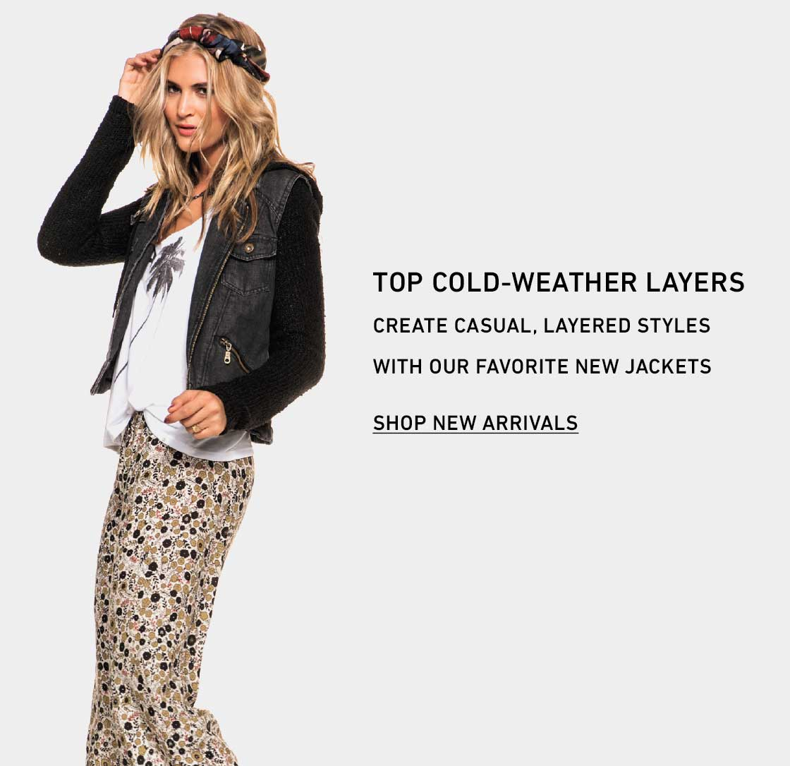 It's Cold! Shop New Jackets