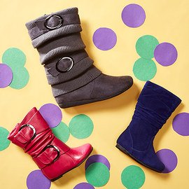 Fashion Underfoot: Girls' Boots
