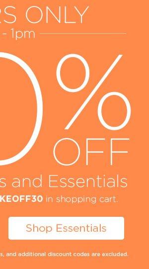 30% Off Tafford Prints and Essentials - Shop Essentials
