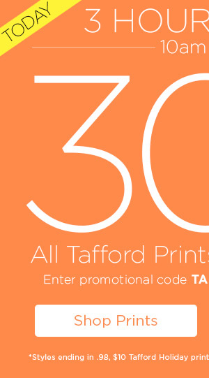 30% Off Tafford Prints and Essentials - Shop Prints