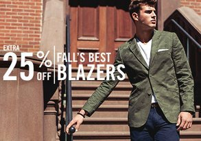 Shop Fall's Best Blazers: Extra 25% Off
