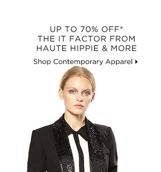 Up To 70% Off* The It Factor From Haute Hippie & More