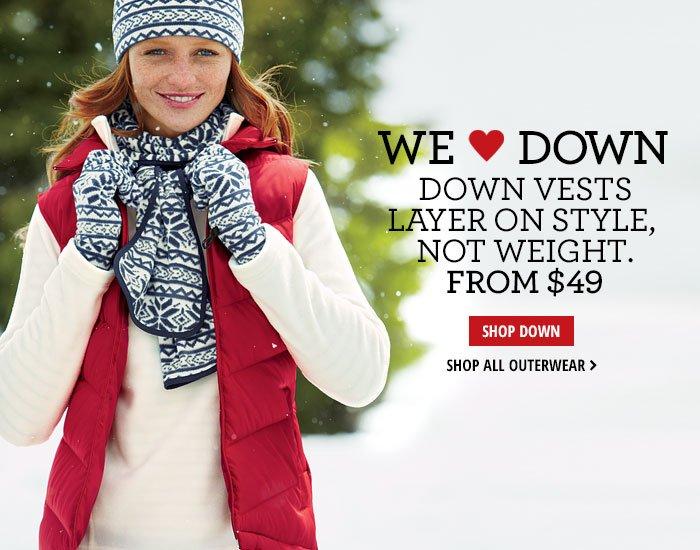 We <3 Down - Shop Down