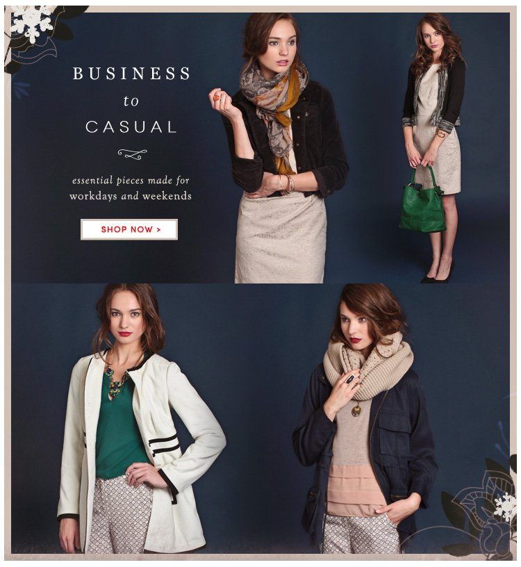 Business to Casual