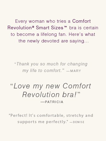 Comfort Revolution® Underwire with Smart Sizes  |  STYLE 3488