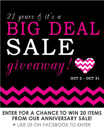 3rd-Anniversary Sale Giveaway