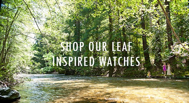 Shop Our Leaf Inspired Watches