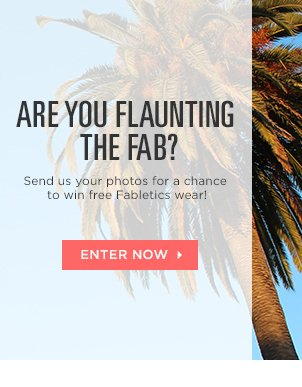 Enter for a chance to win free Fabletics wear!