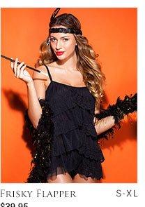 Frisky Flapper lingerie set - S-XL