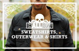 hALLow Sweatshirts,Outerwear & Shirts