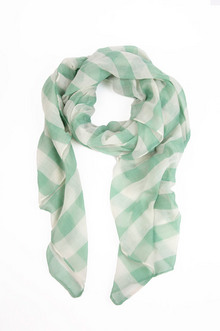 EVENLY STRIPED SCARF 11