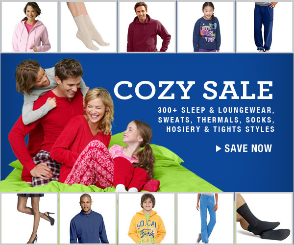 Cozy Sale: All socks, sweats, loungewear and more
