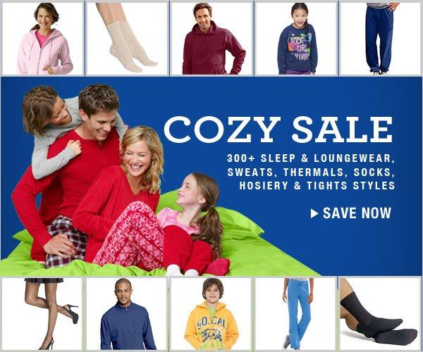 Cozy Sale: All socks, sweats, loungewear and more