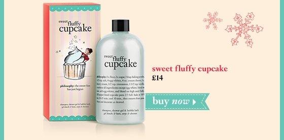 sweet fluffy cupcake shampoo, shower gel & bubble bath 16 oz. £14 buy now