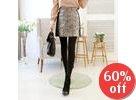 Patterned Gradient Skirt