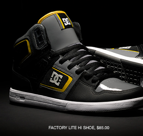 Factory Lite HI Shoe, $85.00