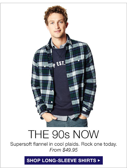 THE 90s NOW | SHOP LONG-SLEEVE SHIRTS