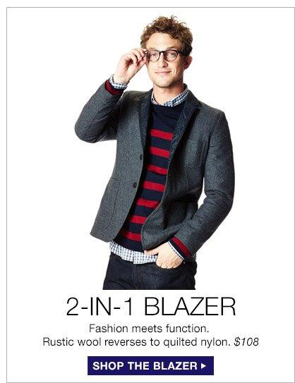 2-IN-1 BLAZER | SHOP THE BLAZER