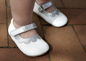 In Black & White: Kids' Shoes