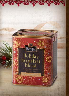 LIMITED AVAILABILITY -- Holiday Breakfast Blend Tea -- Sip the Season's Best