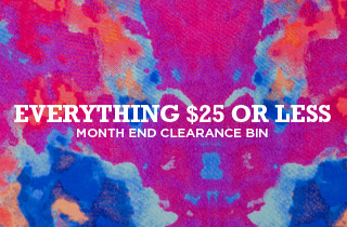 Month End Clearance Bin