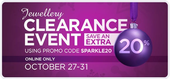 Jewellery Clearance - Shop Now!