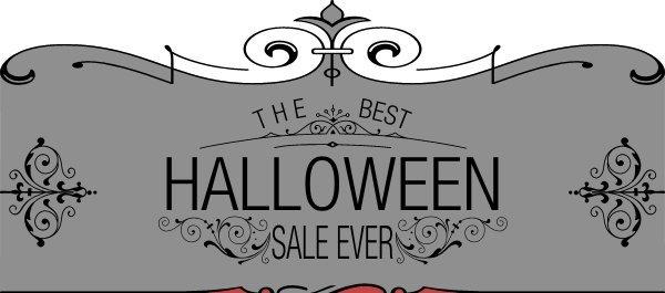 The Best Halloween Sale Ever