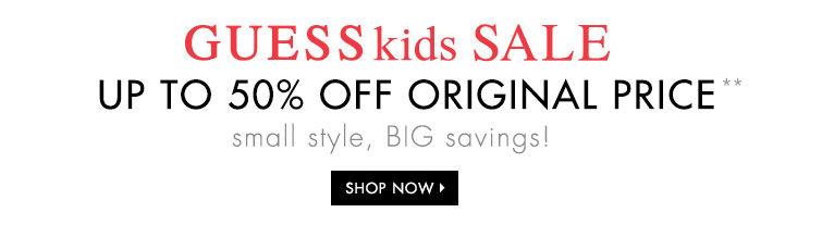Shop Guess Kids Sale