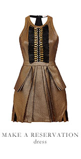 MAKE A RESERVATION dress