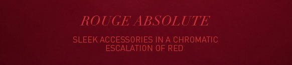 Rouge absolute