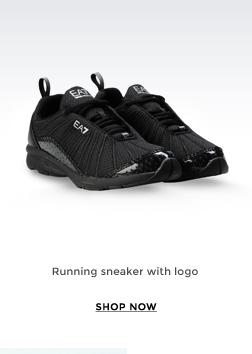 RUNNING SNEAKER WITH LOGO