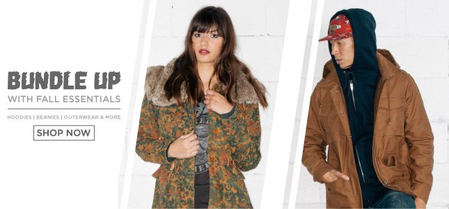 Bundle Up with Fall Essentials