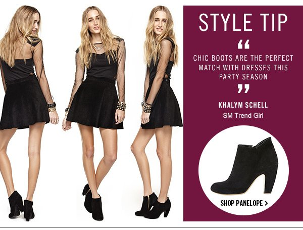 Style Tip! Shop Panelope!