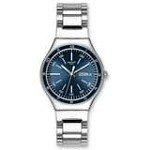 Swatch YGS751G Unisex Swiss Blue Decency Stainless Steel Blue Dial Watch